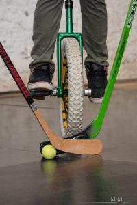 Einradhockey - Symbolbild